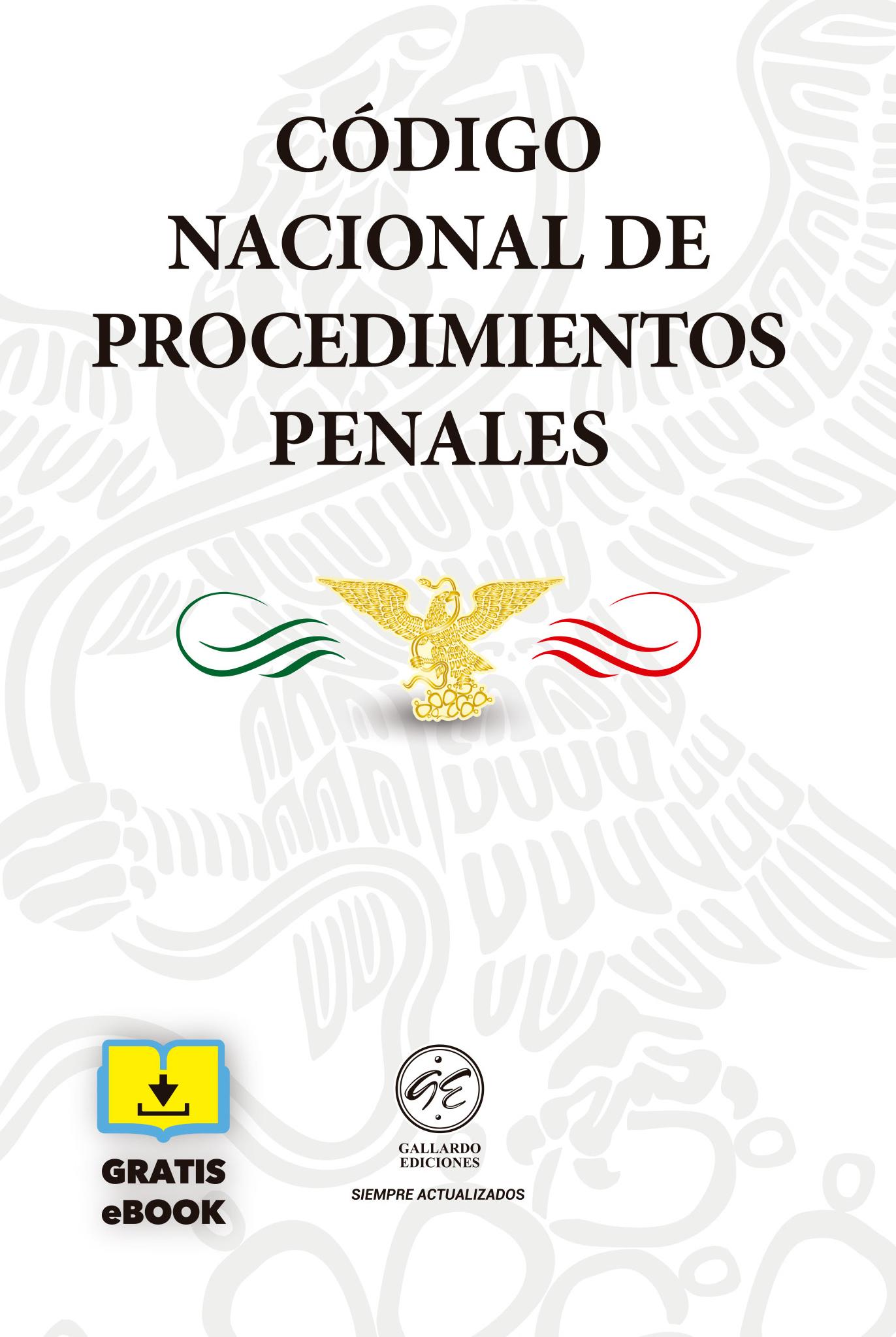 Código Nacional de Procedimientos Penales Bolsillo 2019