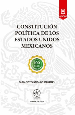 Constitución Política de los Estados Unidos Mexicanos 2018 + Ebook