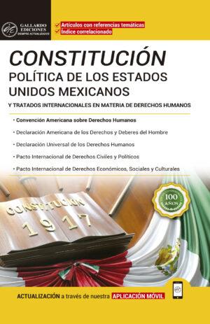 Constitución Política de los Estados Unidos Mexicanos 2018 y Tratados Internacionales en Materia de Derechos Humanos