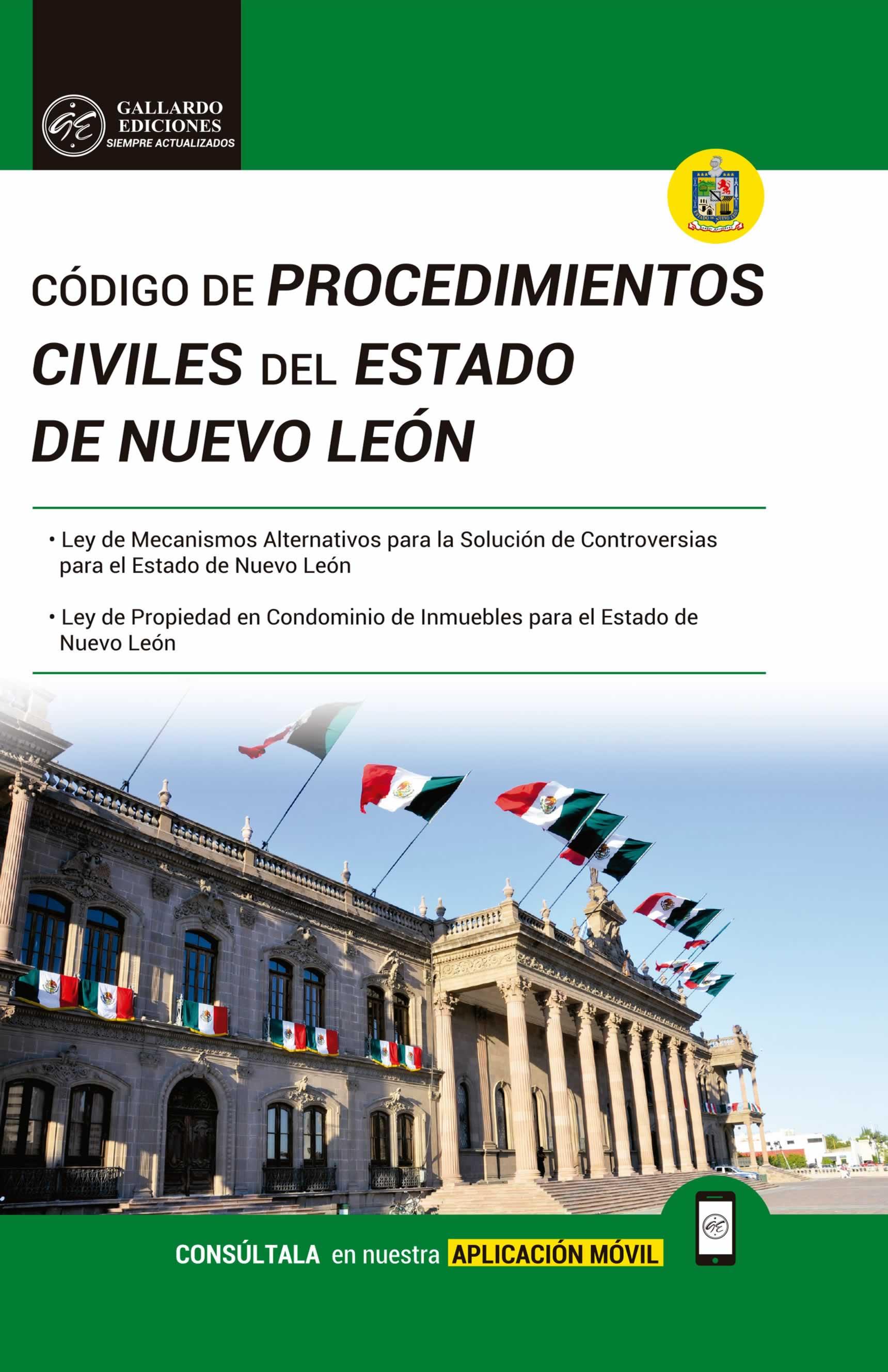 Codigo de Procedimientos Civiles de Nuevo León 2018