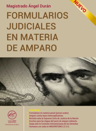 Formularios Judiciales en Materia de Amparo