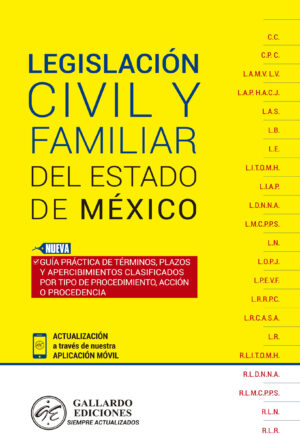 Legislación Civil y Familiar del Estado de México 2018