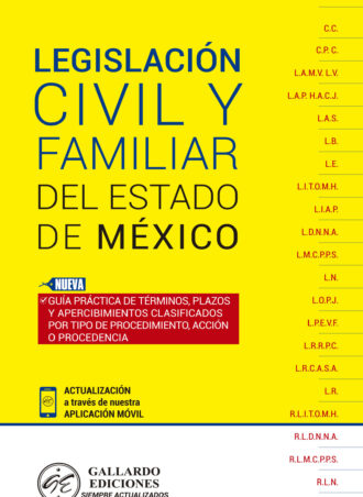 Legislación Civil y Familiar del Estado de México 2018