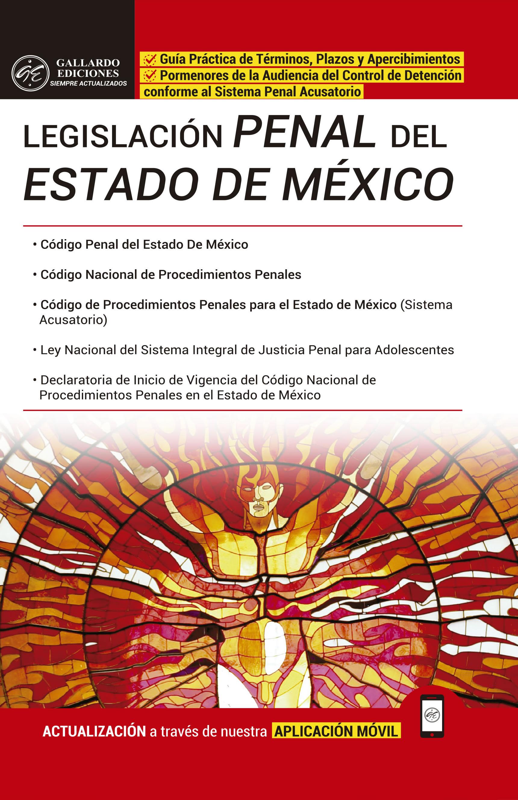 Legislación Penal del Estado de México 2018 PRO