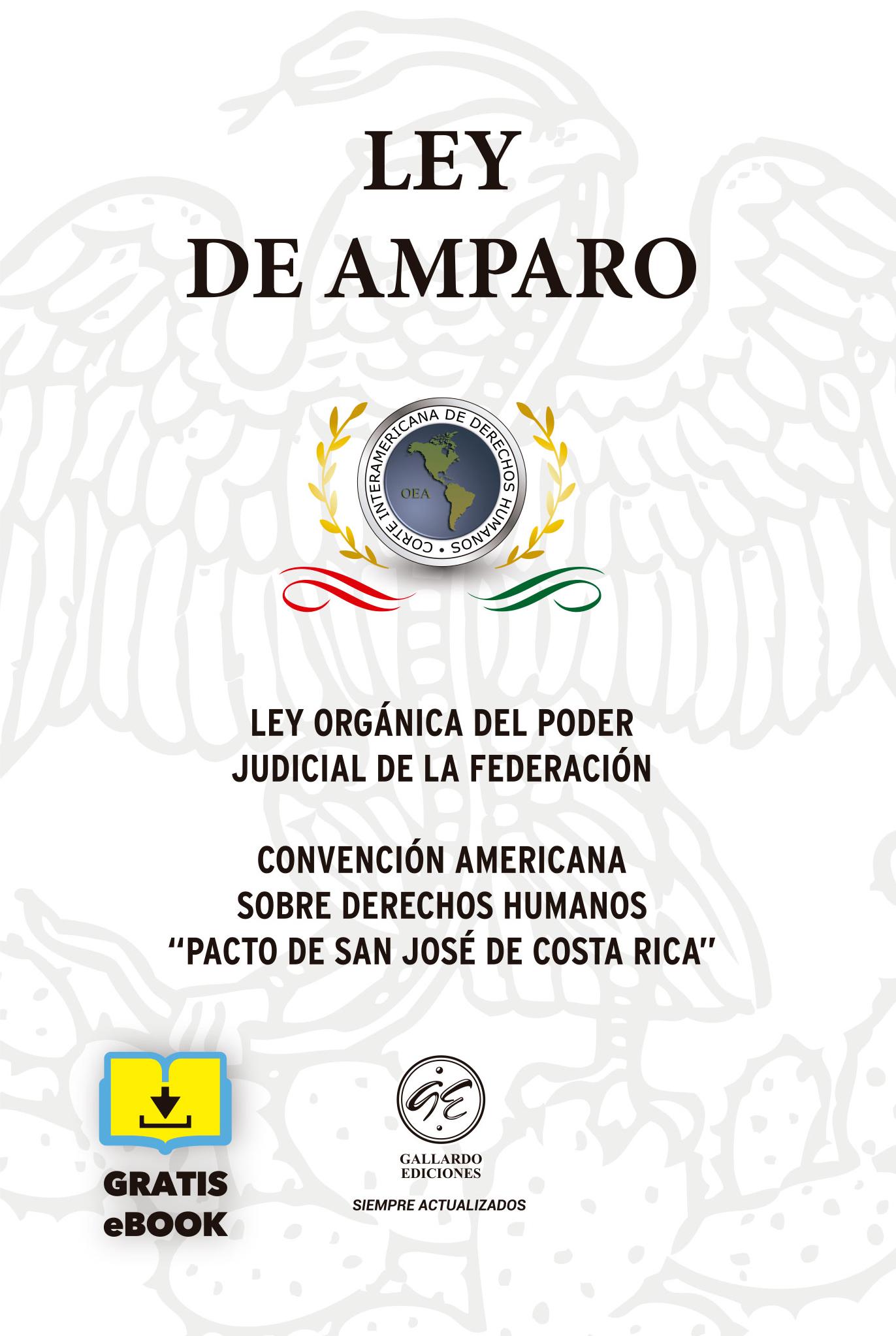 Ley de Amparo Bolsillo 2019