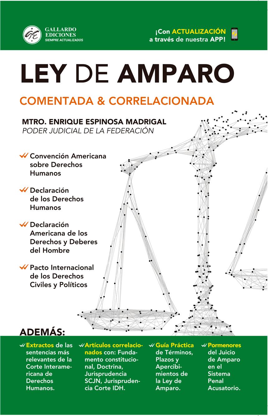 Ley de Amparo 2019 Comentada y Correlacionada