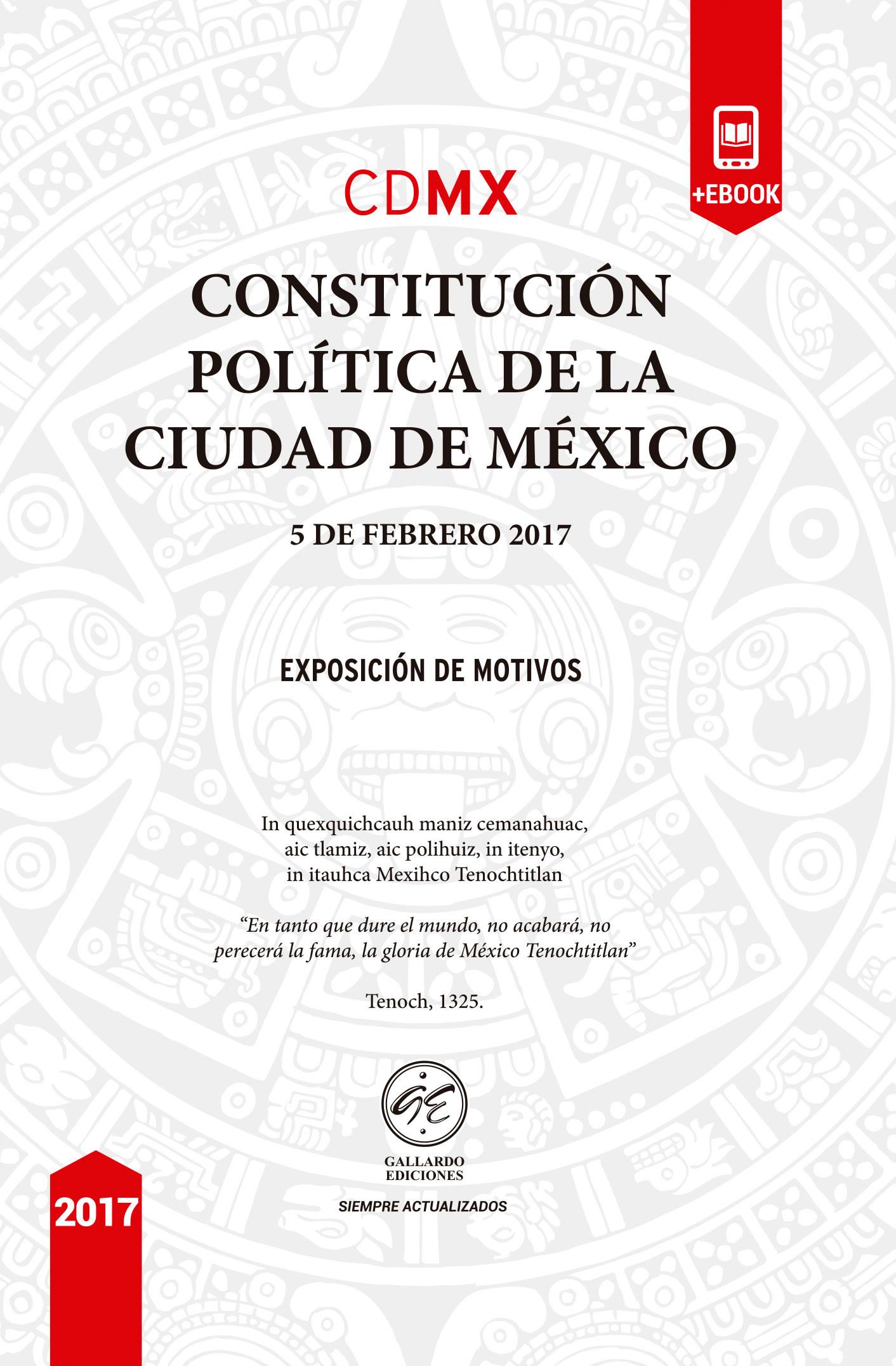 Constitución Política de la Ciudad de Mexico 2018