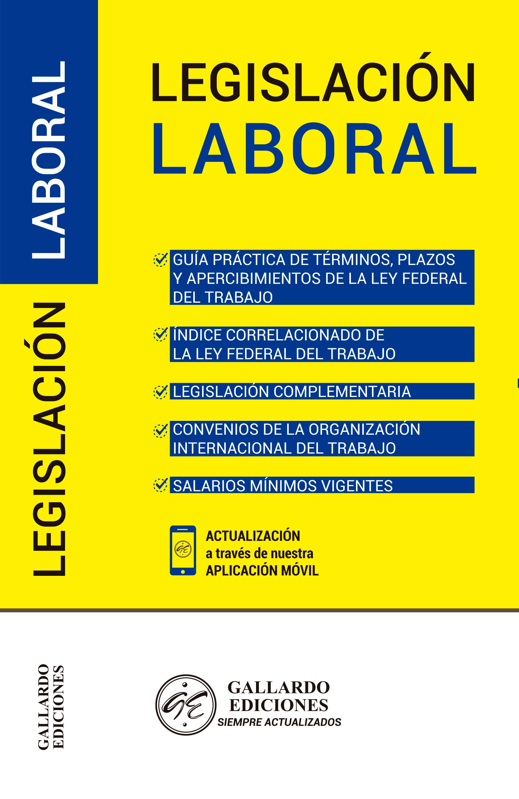 Legislación Laboral 2019