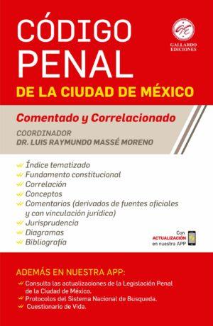Código Penal de la Ciudad de México Comentado 2020 | Código Penal para el Distrito Federal Comentado 2020