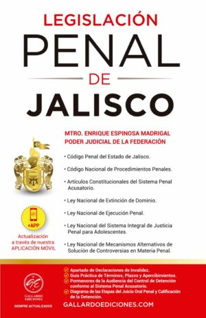 Legislación Penal de Jalisco 2021