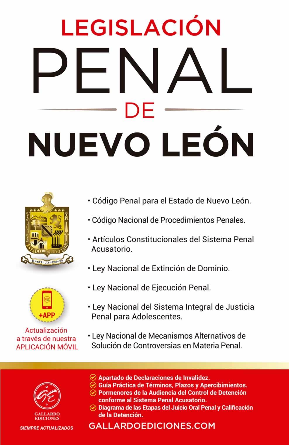 Legislación Penal de Nuevo León 2021