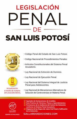 Legislación Penal de San Luis Potosí 2021