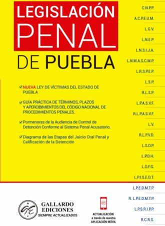 Legislación Penal de Puebla 2021